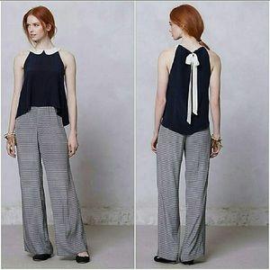 Anthropologie Pants - Adorable silk romper XS by Laureate Lane (Anthro)
